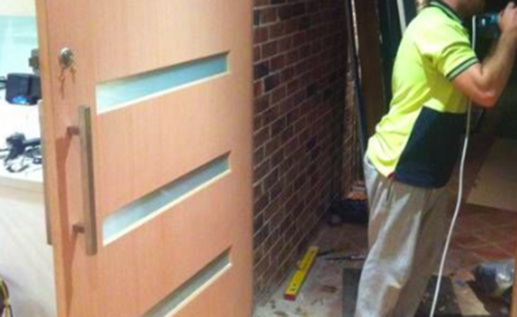 Doors & Door Installation- Carpenters for hire to install your doors